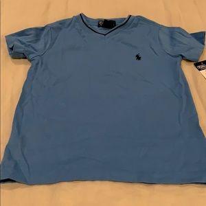 Ralph Lauren blue T-shirt- NWT